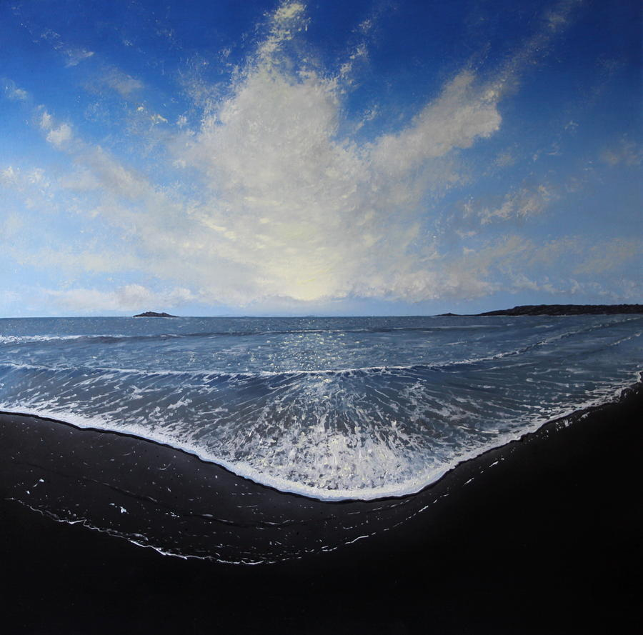 Sea Painting - Returning Light by Paul Newcastle