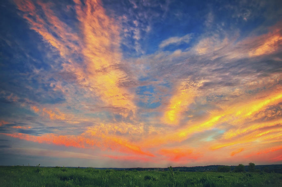 retzer nature center summer sunset with intense clouds photograph by jennifer rondinelli reilly fine art photography retzer nature center summer sunset with intense clouds by jennifer rondinelli reilly fine art photography