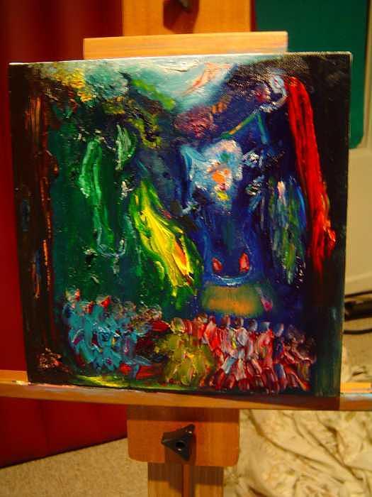 Revelation Painting by Madona Madona