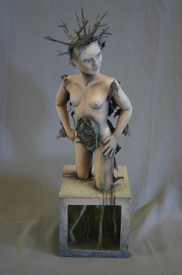 Environmental Sculpture - Revenge Of Gaia by Susan McMahon