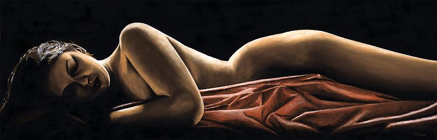 Nude Painting - Reverie by Richard Young