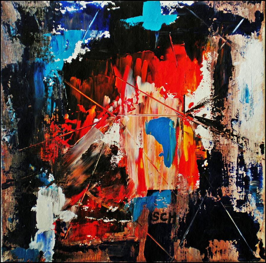 Abstract Painting - Revolution by Scott Haley
