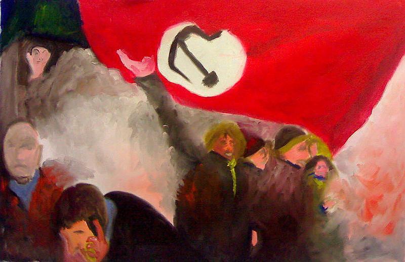 Revolution Painting by Serge Verwest