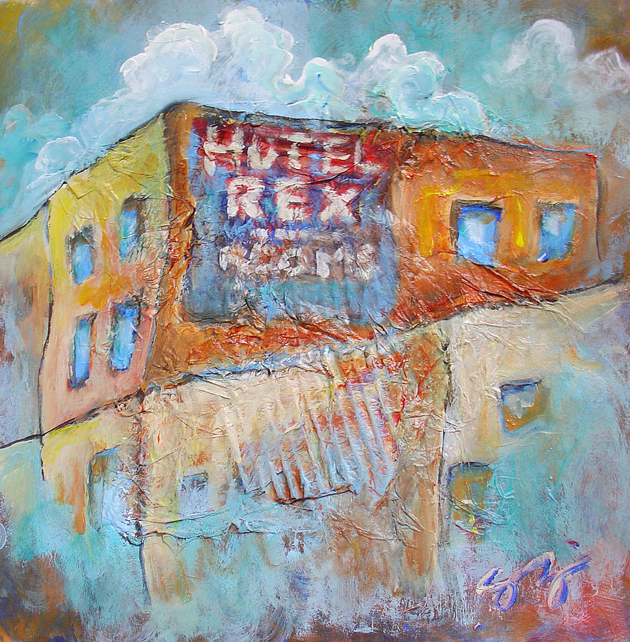 Truckee Painting - Rex Hotel by Sara Zimmerman
