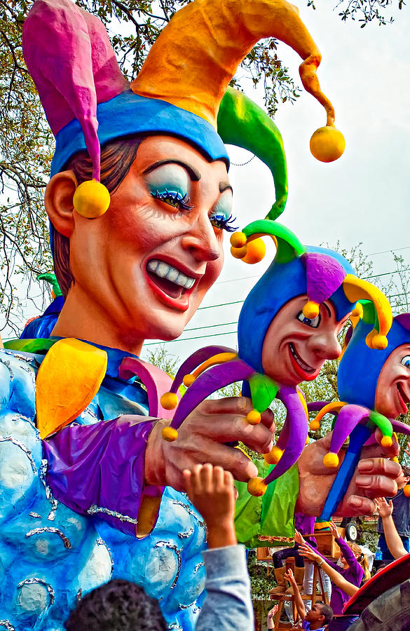 New Orleans Photograph - Rex Mardi Gras Parade Xi by Steve Harrington