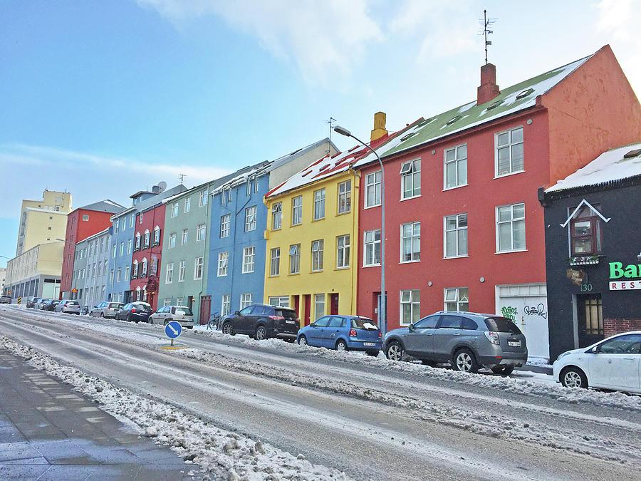 Reykjavik Street Iceland 2 3122018j2325.jpg Photograph by David Frederick