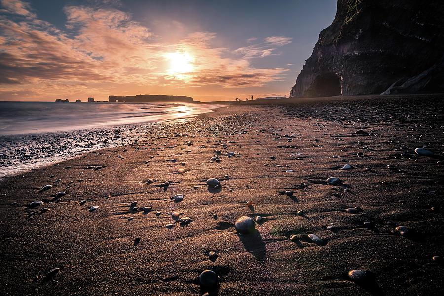 Reynisfjara Black Sand Beach Iceland Travel Photography Photograph By Giuseppe Milo