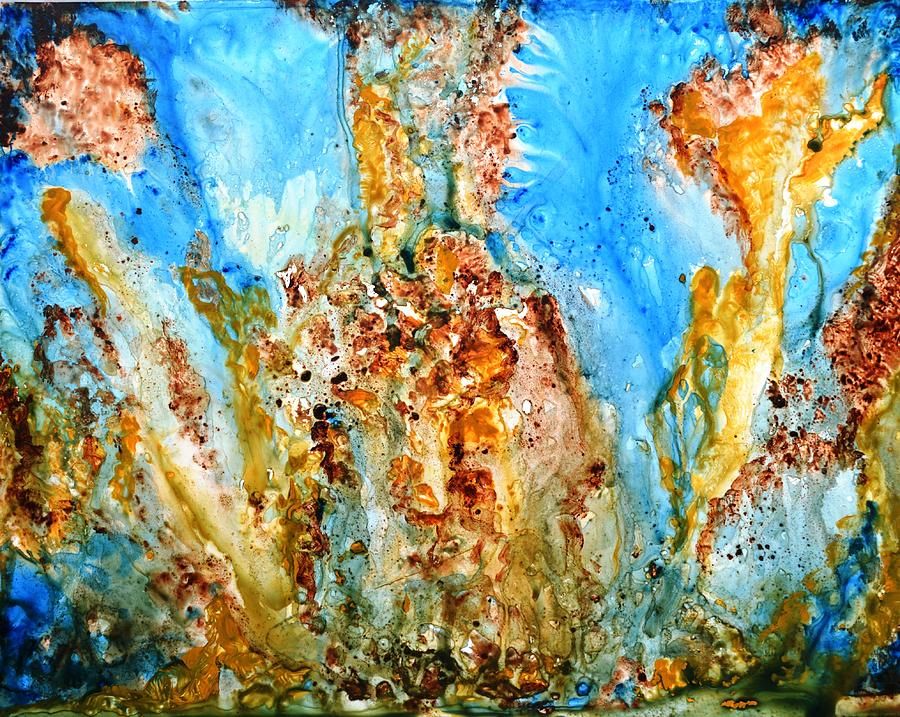 Rhapsody Abstract Painting Painting