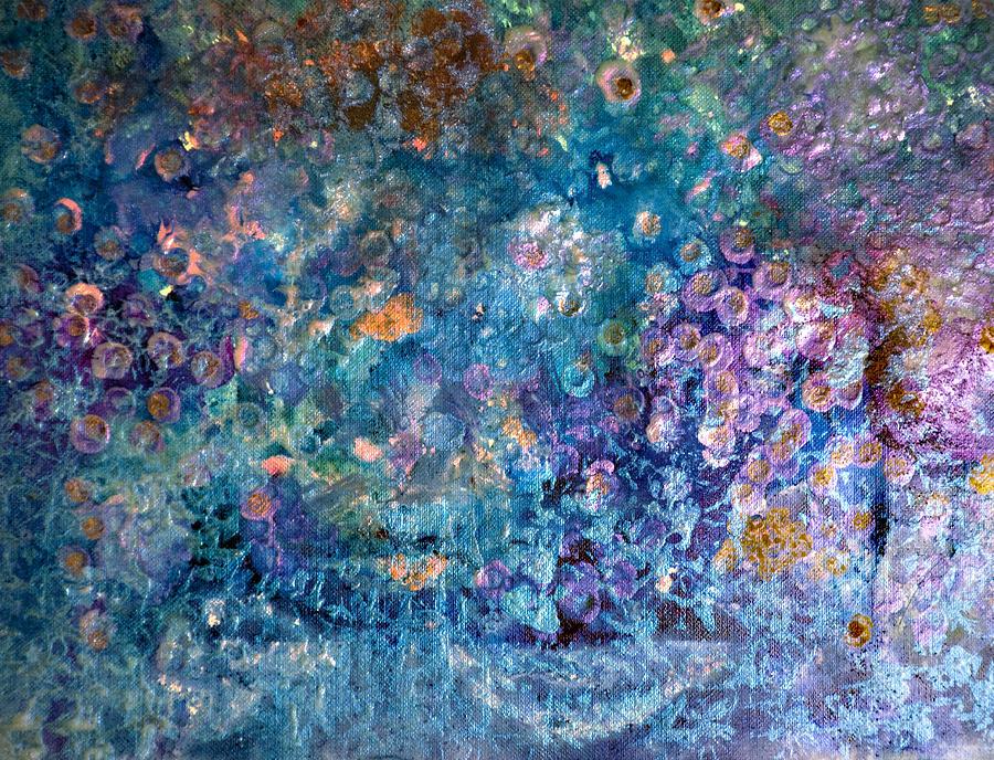 Rhapsody In Blue Painting - Rhapsody In Blue by Don  Wright