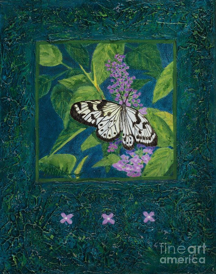Rhapsody in Blue I by Sandra Neumann Wilderman