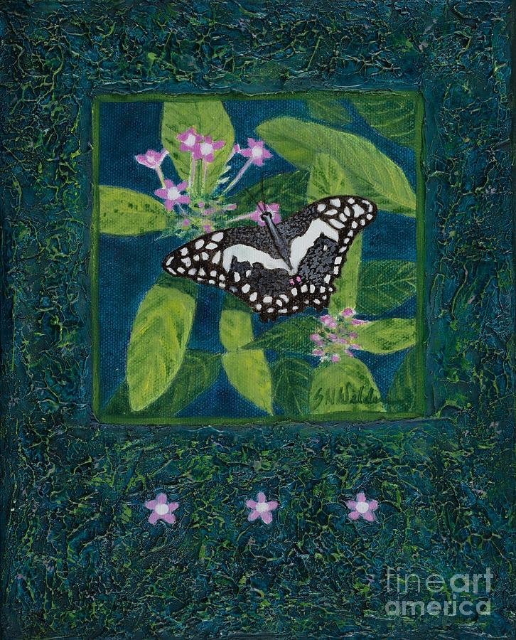 Rhapsody in Blue II by Sandra Neumann Wilderman