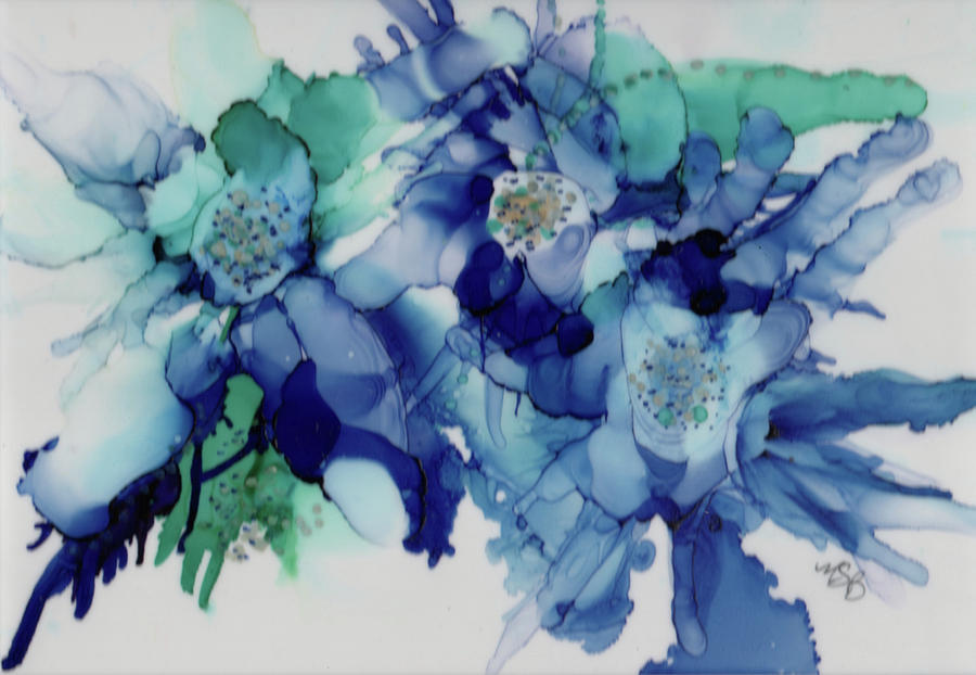 Rhapsody in Blue by Mary Benke