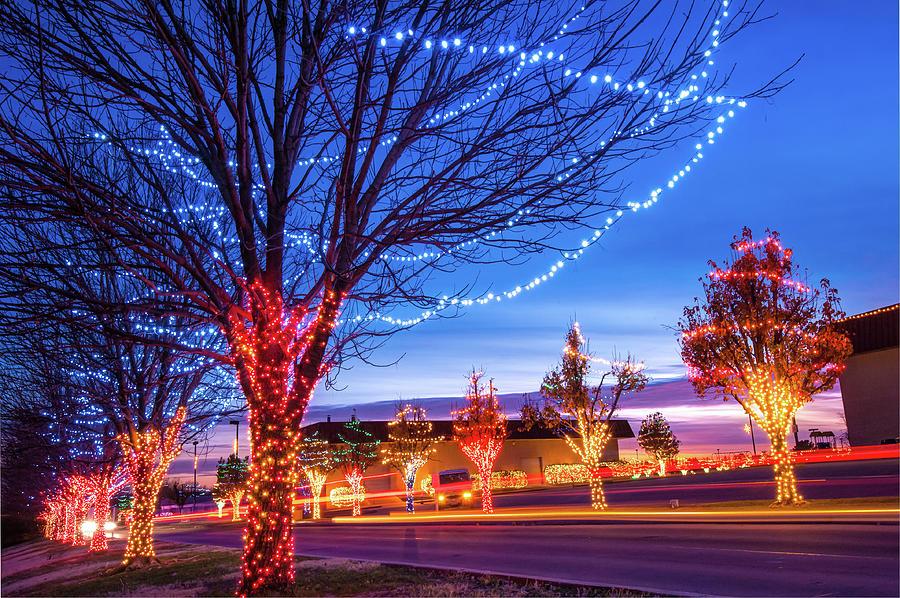 Rhema Christmas Lights.Rhema Christmas Lights Christmas In Broken Arrow Oklahoma