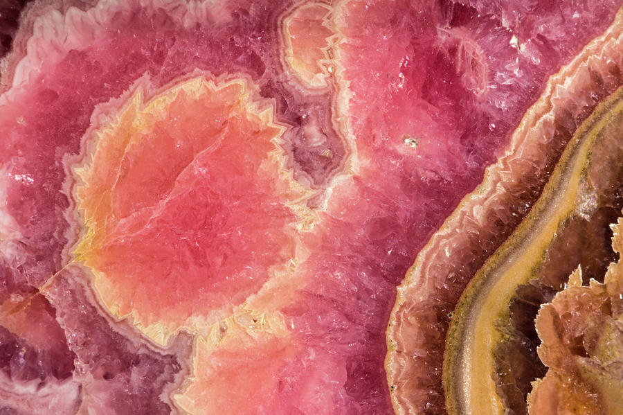 Rhodochrosite by Jim and Lynne Weber
