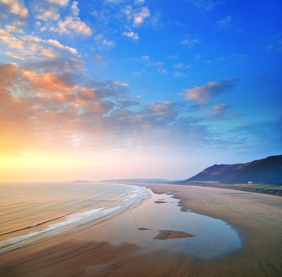 Gower Photograph - Rhosili 2 by Phil Fitzsimmons