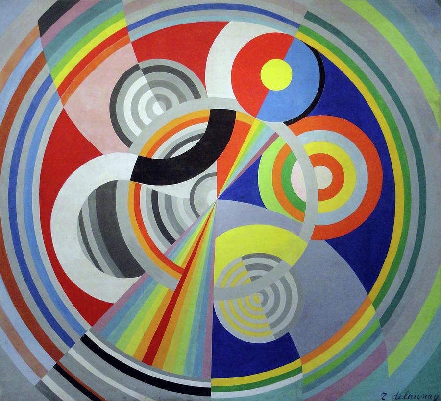 Rhythm 1 decoration for the salon des tuileries painting for Art et decoration salon