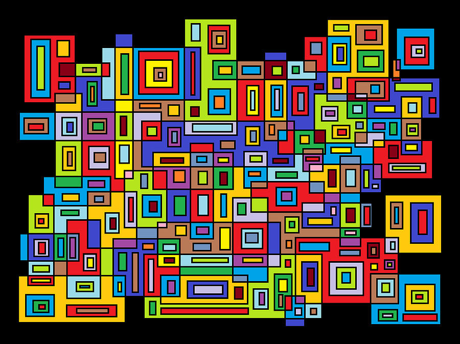 Digital Digital Art - Rhythm 102 by Cynthia Friedlob
