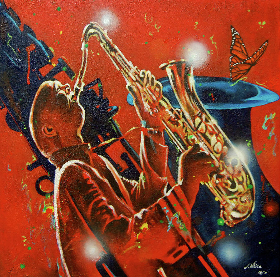 Rhythm Painting - Rhythm and Light by Jerome White