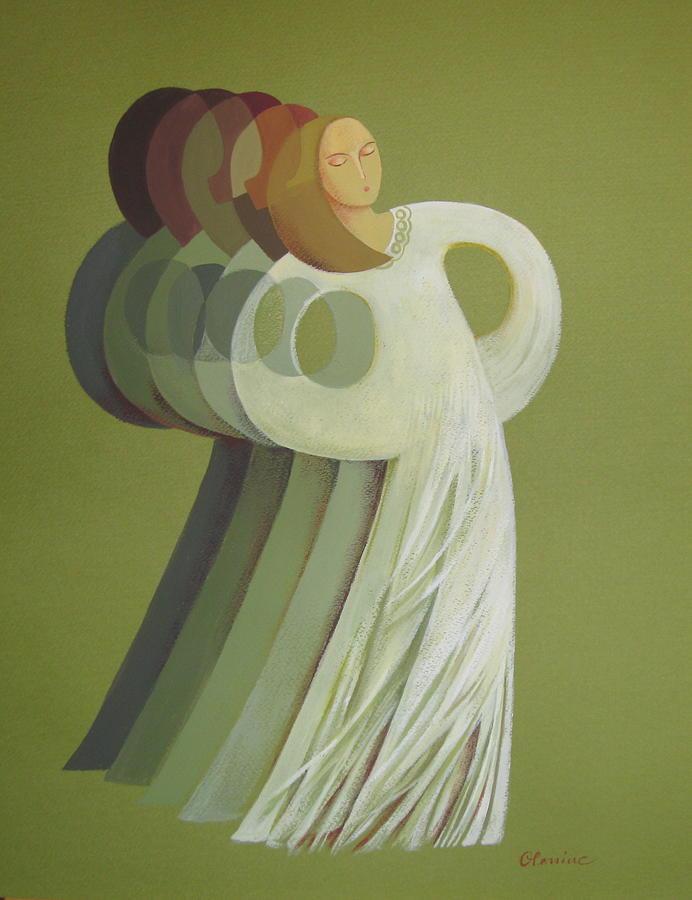 Rhythm Painting - Rhythm by Elena Oleniuc