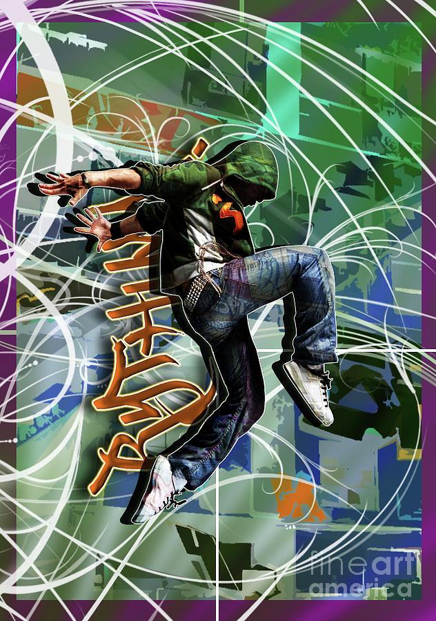 Adolescence Digital Art - Rhythm by Nicole Street