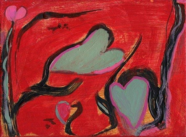 Rhythm of Love Painting by Patricia Byron