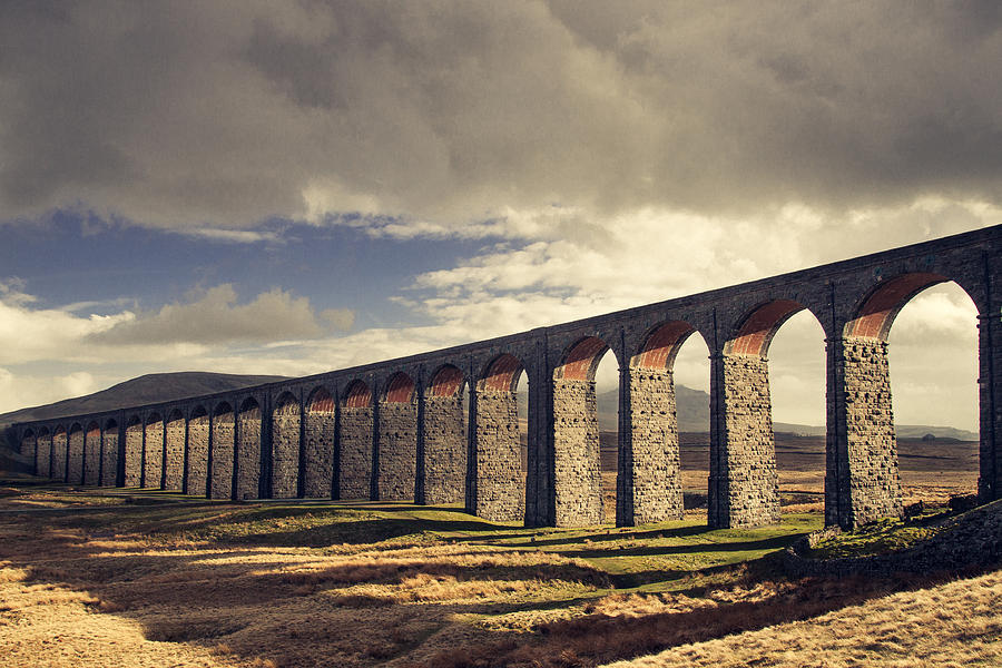 Viaduct Photograph - Ribblehead by Chris Dale