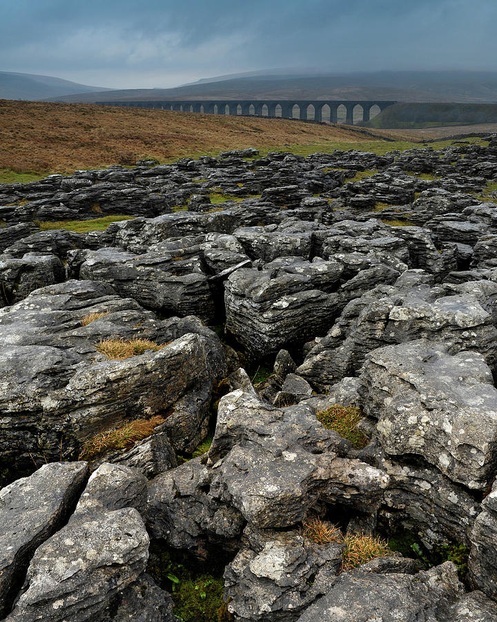 Viaduct Photograph - Ribblehead Viaduct, Yorkshire, England by David Stanley