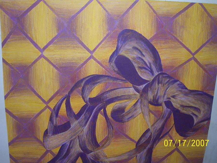 Color Drawing - Ribbon by Iris Banks