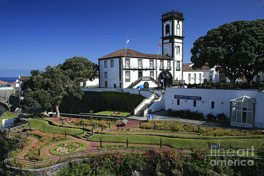 Facade Photograph - Ribeira Grande Azores by Gaspar Avila