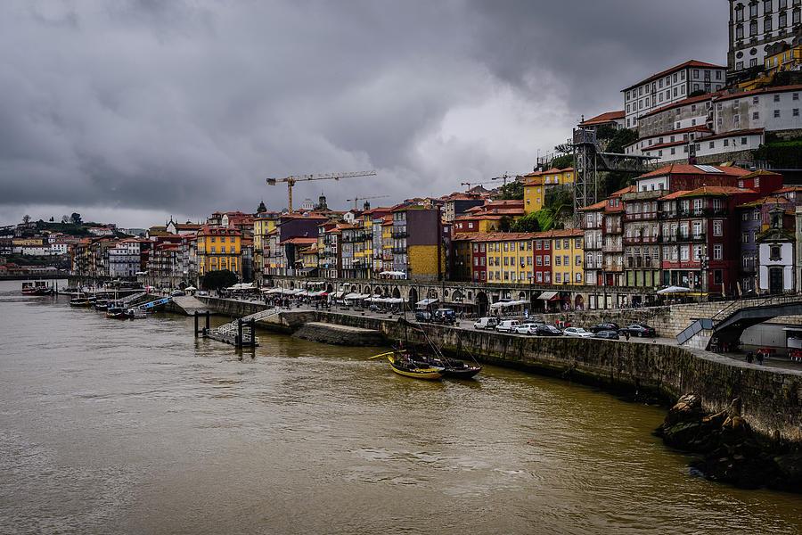 Ribeira Under A Gloomy Sky Photograph
