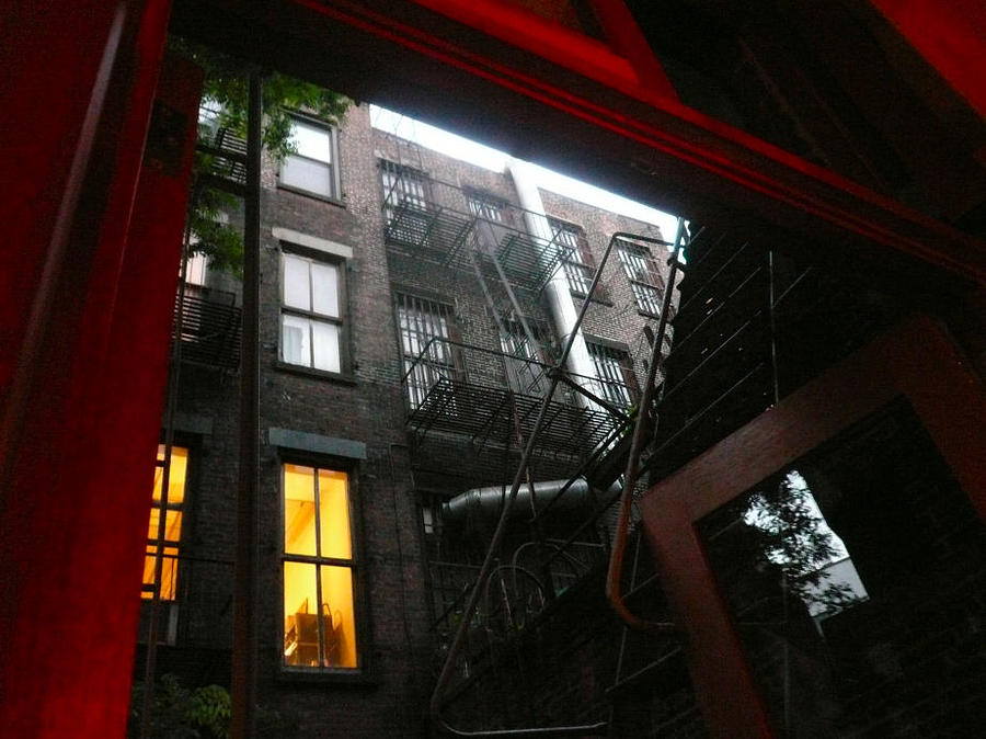 Cityscape Photograph - Rice Restaurant Elizabeth Street Ny by Franki Shifreen
