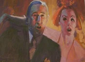 Painting Painting - Richard Gere And Pretty Women by Perry  Rubenstein