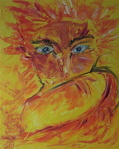 Richard Painting by Gunter  Tanzerel