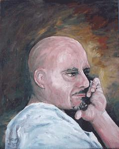 Richard Painting by Joe Harvey