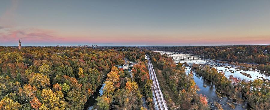 Rva Photograph - Richmond Fall 2016 by Tredegar DroneWorks