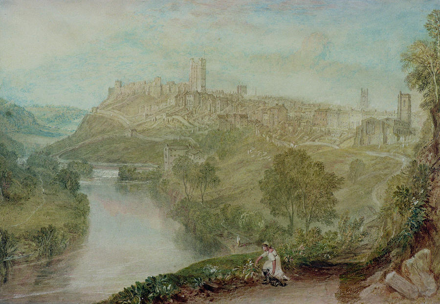 Richmond Painting - Richmond In Yorkshire by Joseph Mallord William Turner