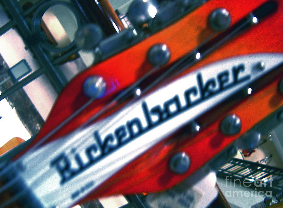 Guitars Photograph - Rickenbocker by Sergio Geraldes