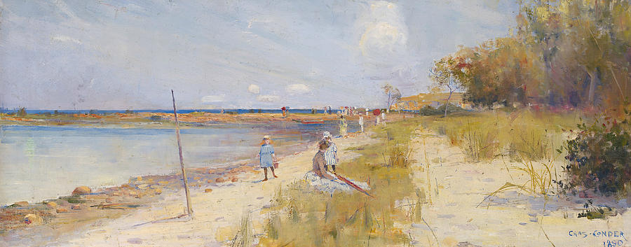 Landscape Painting - Ricketts Point  by Charles Conder