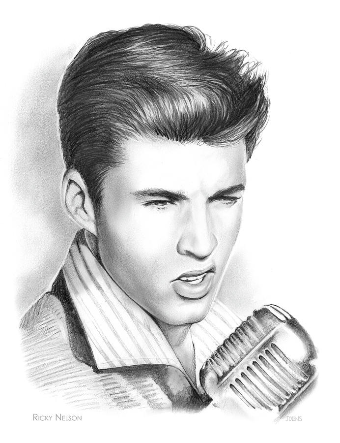 Ricky Nelson Drawing