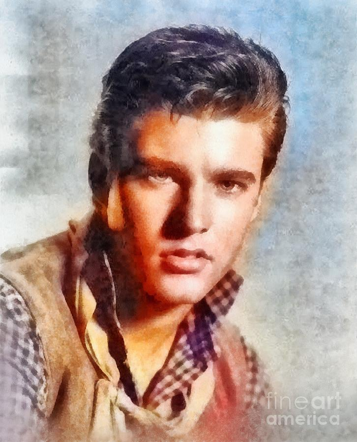 Ricky Nelson, Music Legend Painting