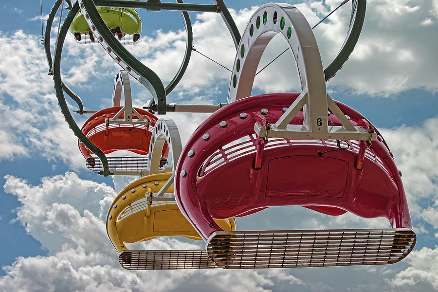 Ride Against The Sky Photograph