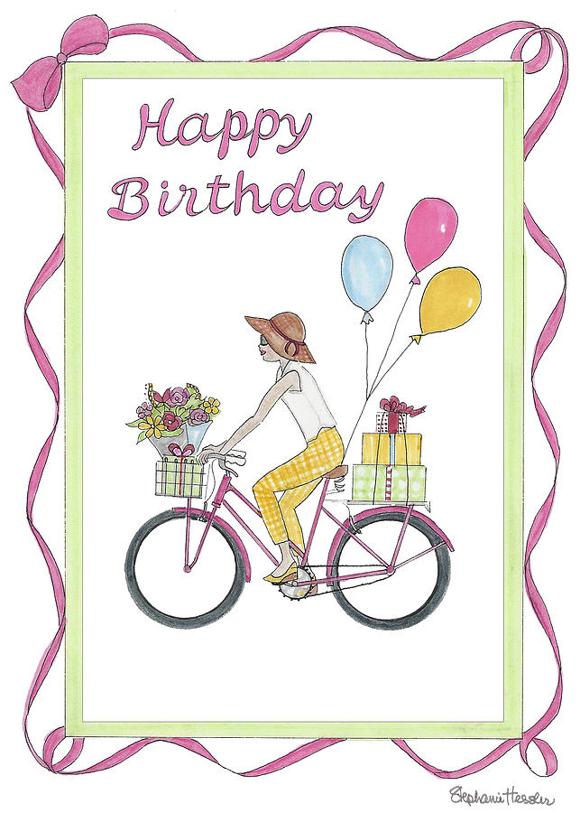 Ride in Style - Happy Birthday by Stephanie Hessler