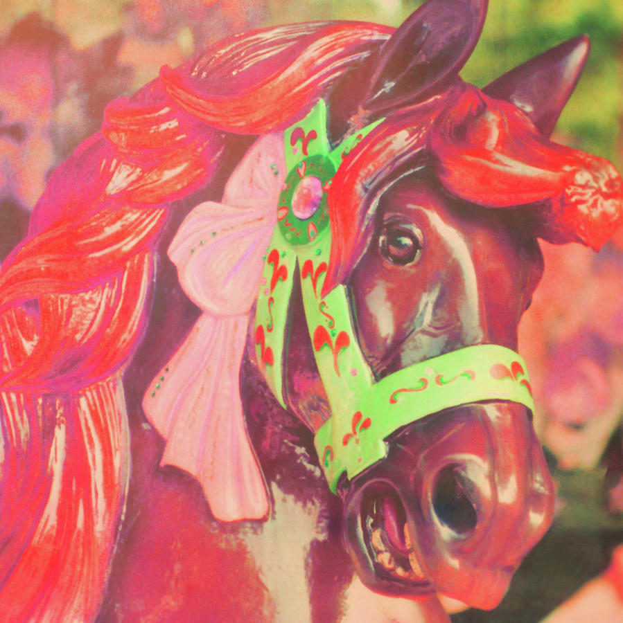 Horse Photograph - Ride Of Old Pinks by JAMART Photography