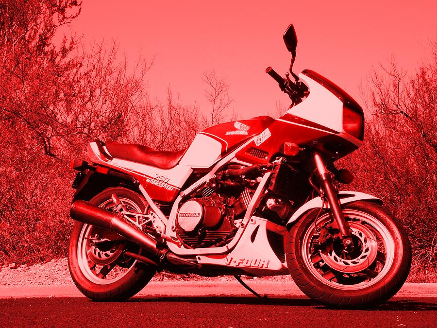 Motorcycle Photograph - Ride Red by David S Reynolds
