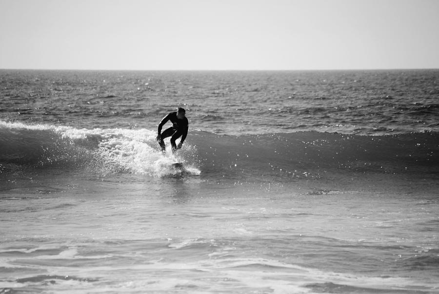 Surf Photograph - Ride The Surf by Bransen Devey