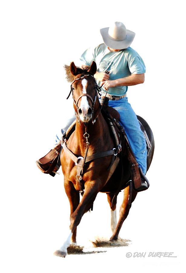 Cowboy Photograph - Rider by Don Durfee