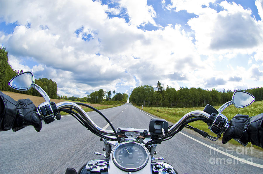 Riders Eye View Photograph