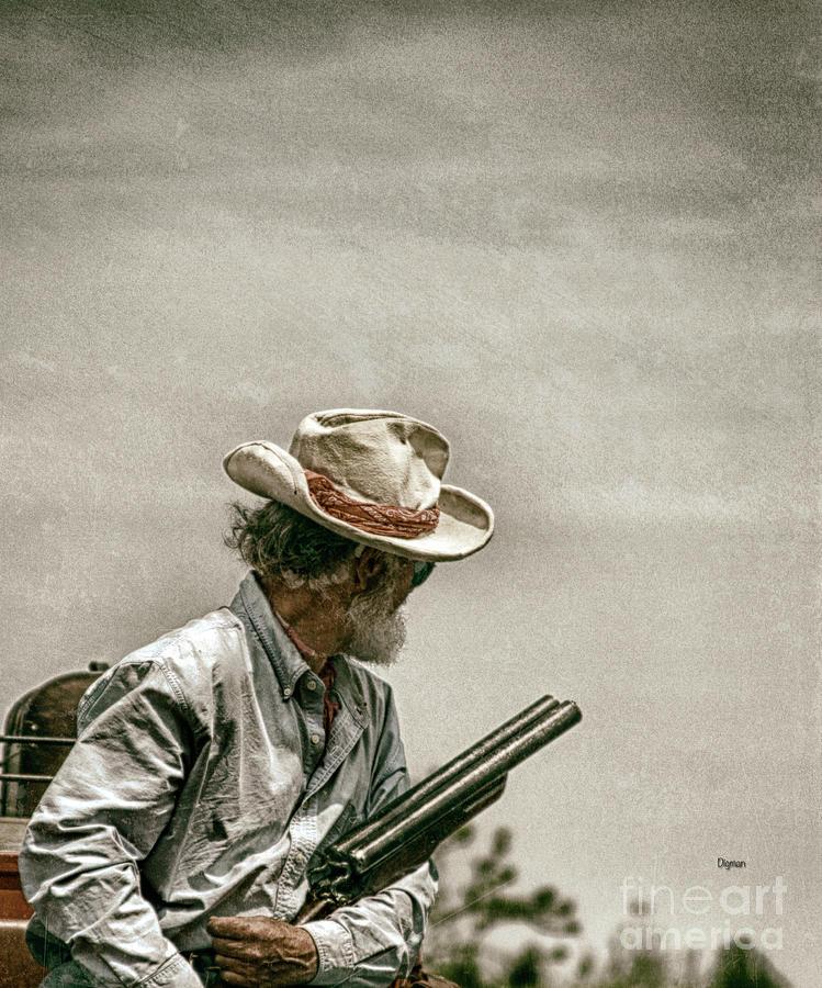 West Photograph - Riding Shotgun by Steven Digman
