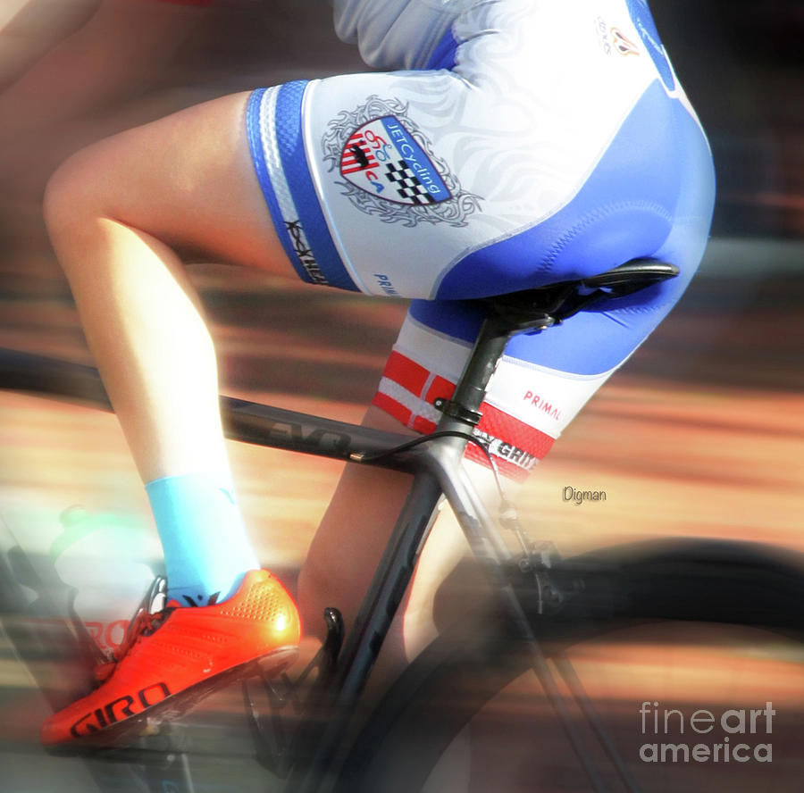 Bicycle Photograph - Riding The Bottom Clutch  by Steven Digman