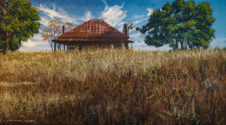 Rifle Range Road Farmhouse by Peter Muzyka
